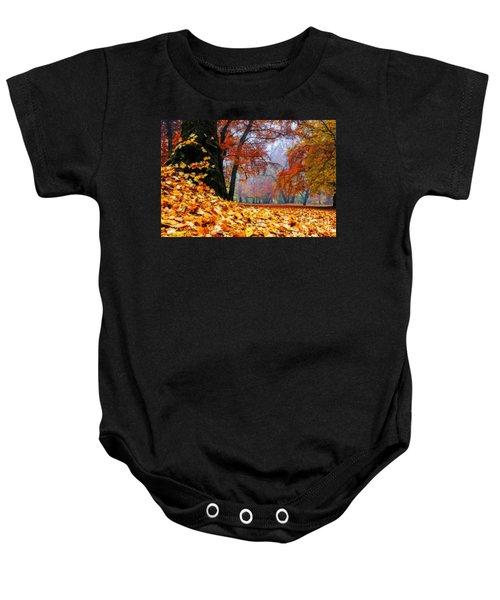 Autumn In The Woodland Baby Onesie