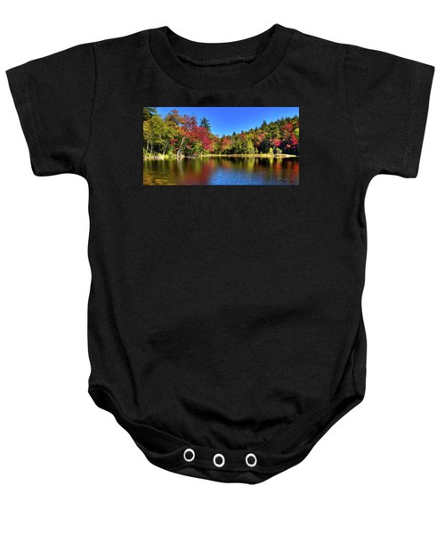 Autumn On 7th Lake Baby Onesie