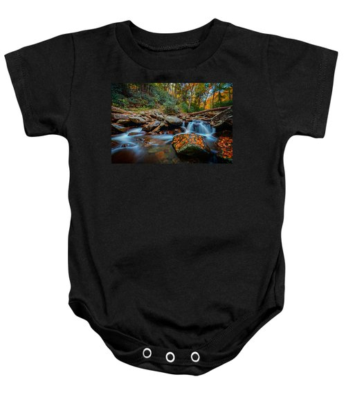 Autumn On The Chimney Tops Trail Baby Onesie