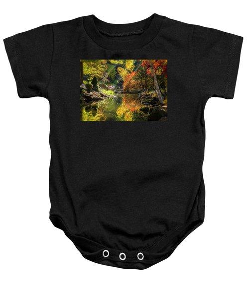 Autumn Reflections Baby Onesie