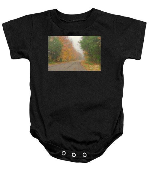 Autumn Roads Baby Onesie