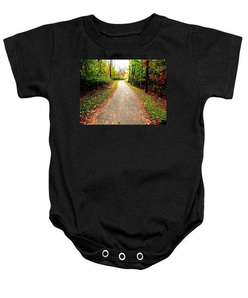 Autumn Walk Baby Onesie