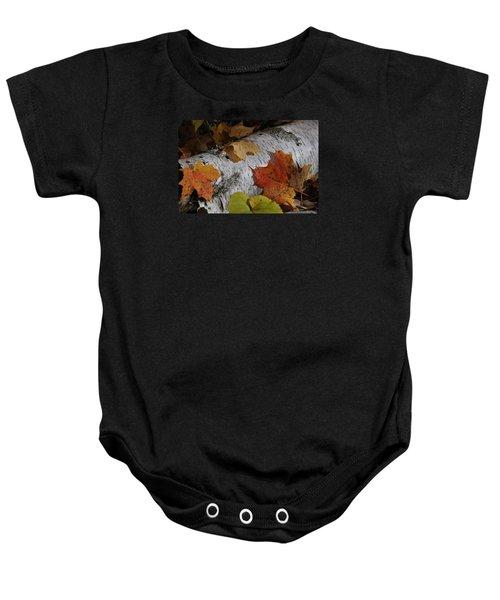 Autumnal Melange Baby Onesie