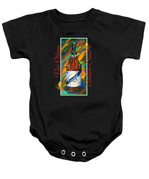 Awesome Sauce - Crystal Baby Onesie