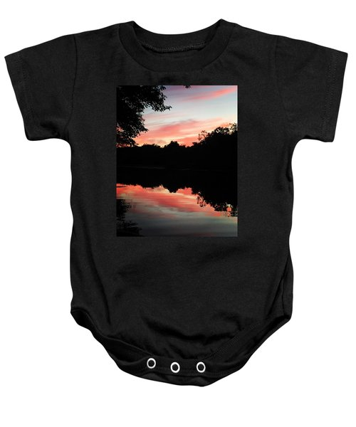 Awesome Sunset Baby Onesie