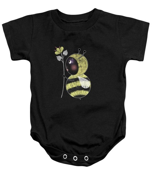B Is For Bumble Bee Baby Onesie