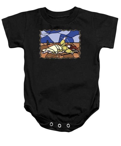 Babie Lato Stained Glass Version Baby Onesie