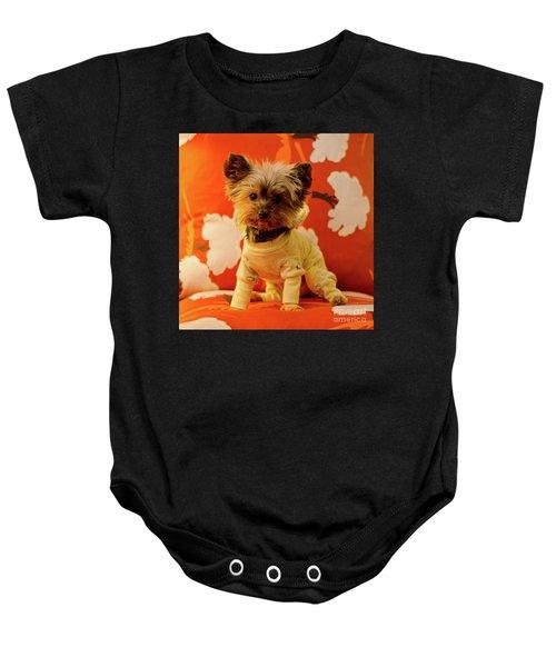 Baby Mel In Pjs Baby Onesie