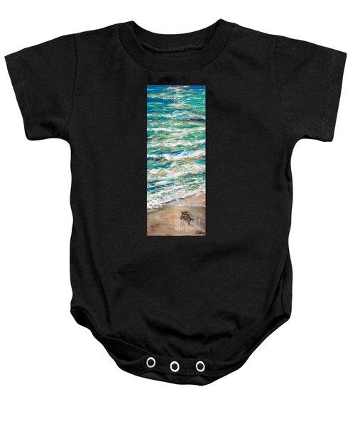 Baby Sea Turtle II Baby Onesie