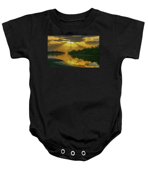 Back Up Reflection Baby Onesie