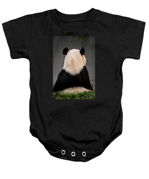 Backward Panda Baby Onesie