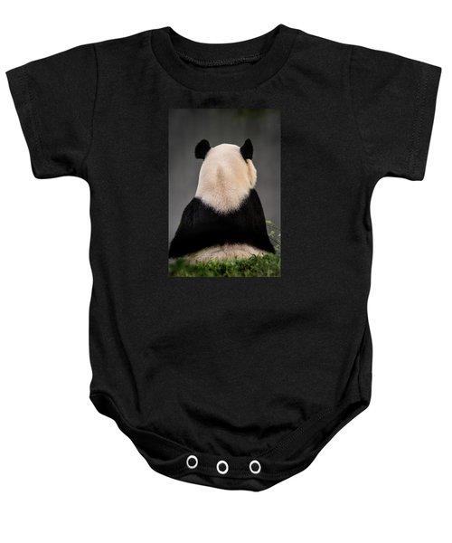Backward Panda Baby Onesie