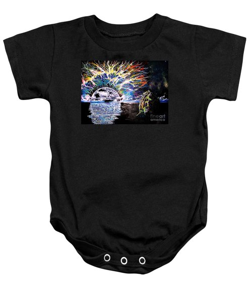 Bad Moon Rising Baby Onesie