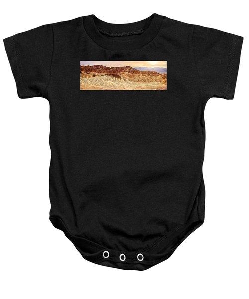 Badlands Formation Baby Onesie