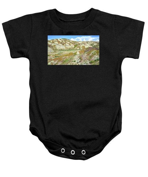 Badlands Of Wyoming Baby Onesie