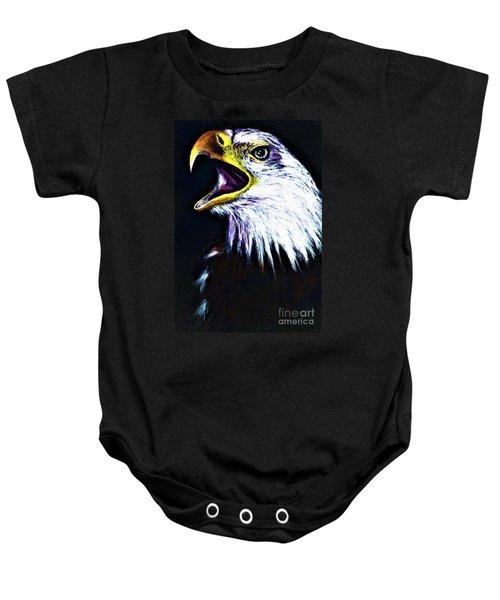 Bald Eagle - Francis -audubon Baby Onesie