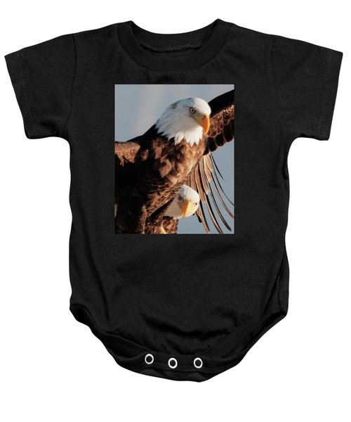 Bald Eagles Baby Onesie