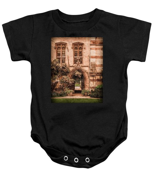 Oxford, England - Balliol Gate Baby Onesie