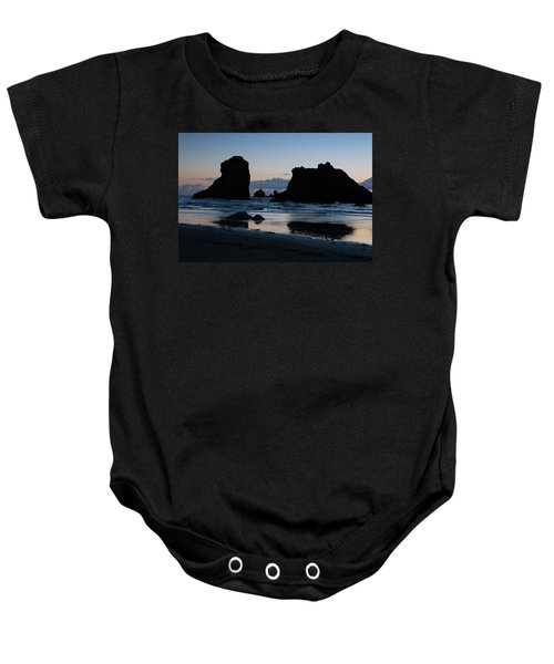 Bandon Oregon Sea Stacks Baby Onesie