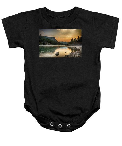 Banff Sunrise Baby Onesie