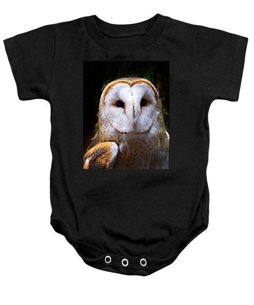 Barn Owl Baby Onesie