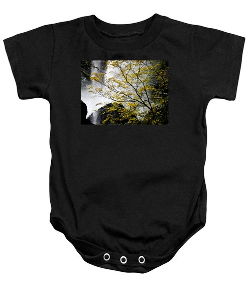Base Of The Falls. Baby Onesie