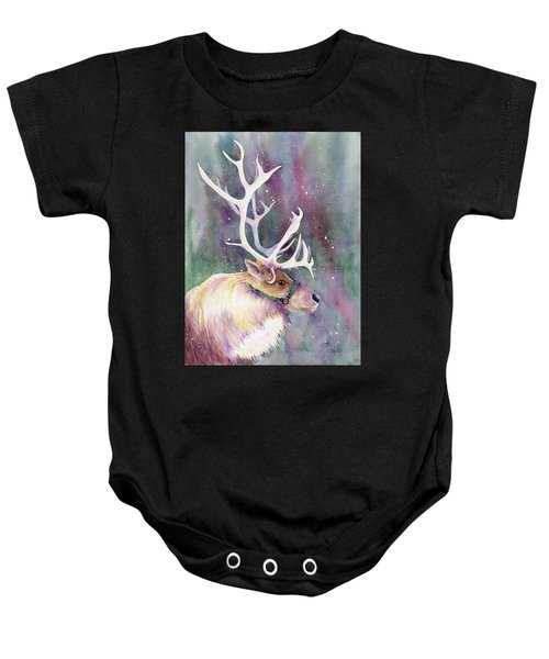 Basking In The Lights Baby Onesie
