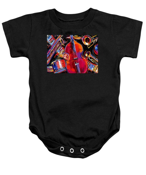 Bass And Friends Baby Onesie