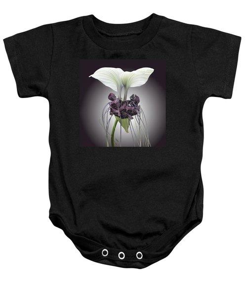 Bat Plant Baby Onesie
