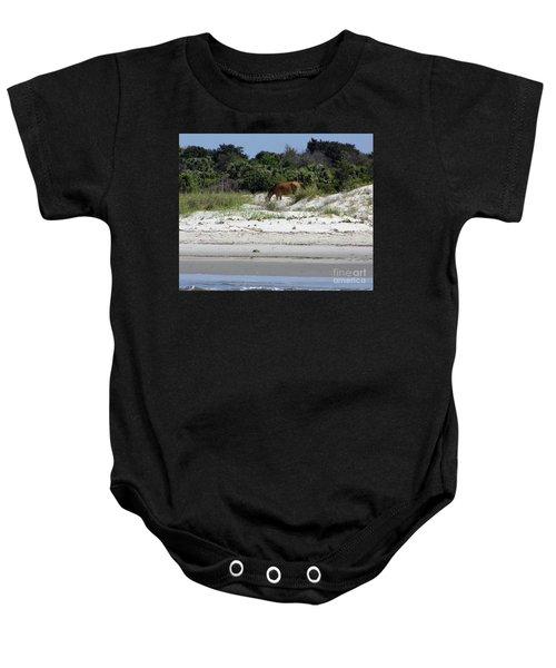 Bay At The Beach Baby Onesie