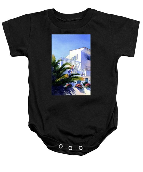 Beach House At Figueres Baby Onesie