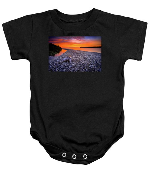 Beach Road Baby Onesie
