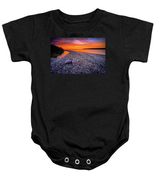 Beach Road Baby Onesie