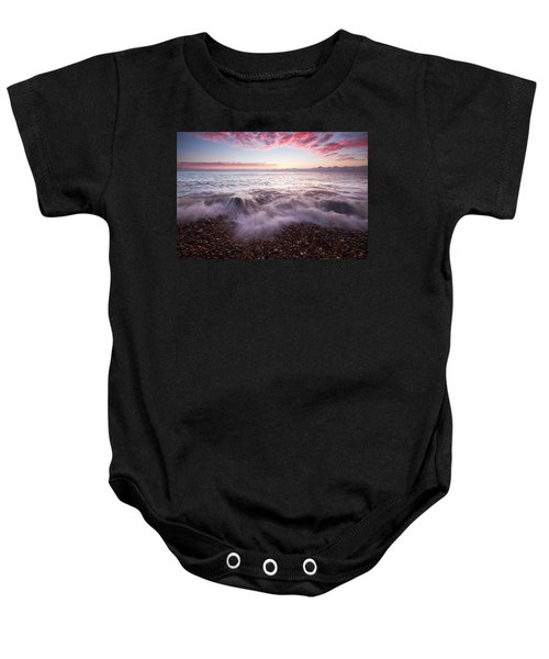 Beach Sunrise Baby Onesie