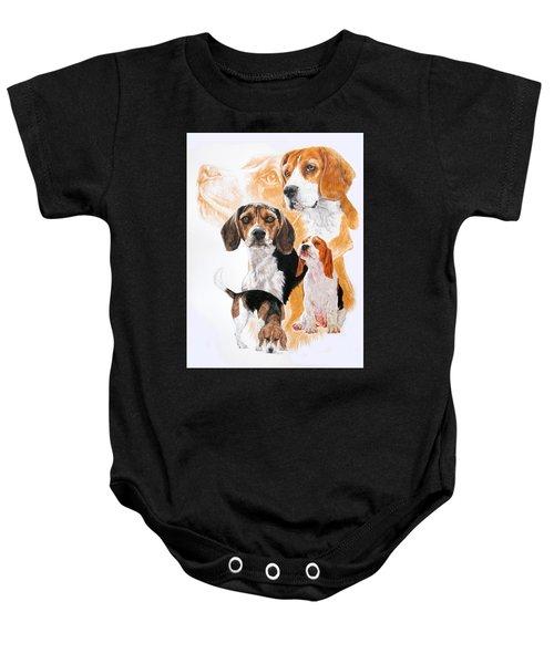 Beagle Hound Medley Baby Onesie
