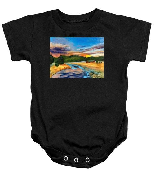 Bear Creek Colorado Baby Onesie