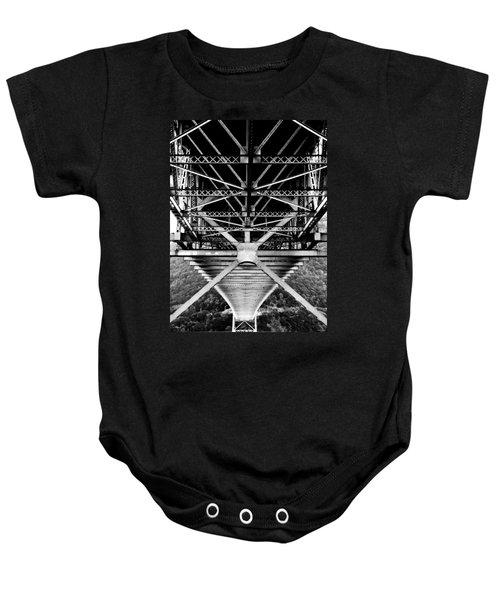 Bear Mountain Bridge  Baby Onesie