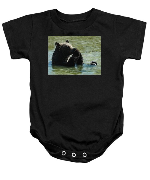 Bear Prayer Baby Onesie