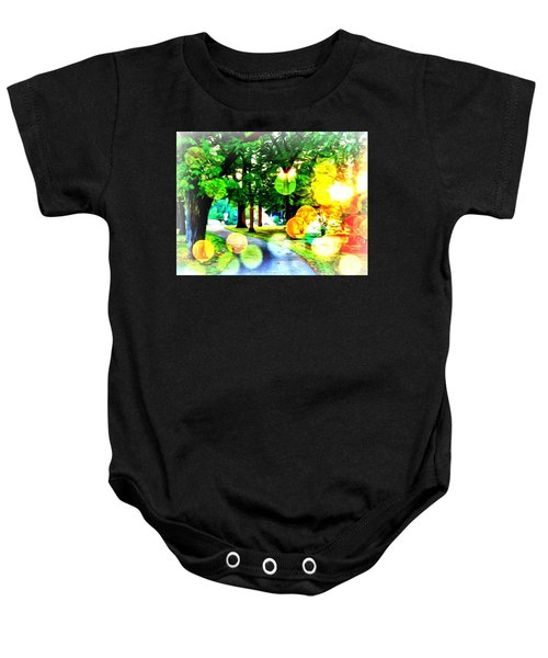 Beautiful Day For A Walk Baby Onesie
