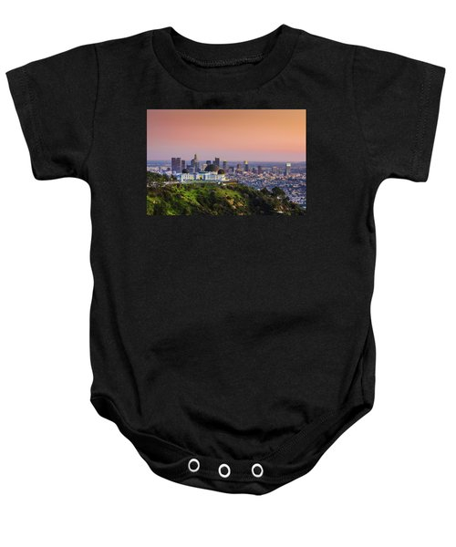 Beauty On The Hill Baby Onesie