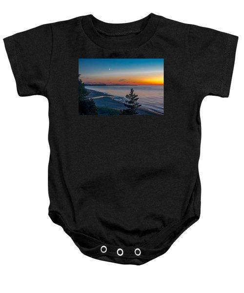 Beaver Creek Sunset Baby Onesie