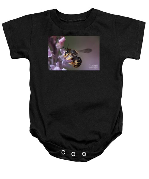 Bee Sipping Nectar Baby Onesie