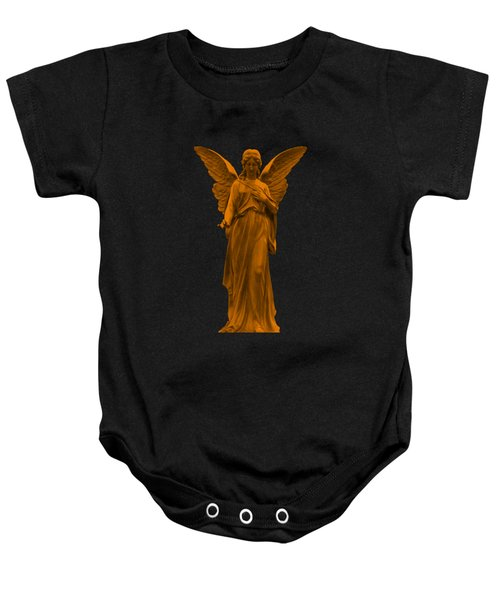 Baby Onesie featuring the photograph Behold I Send An Angel Before Thee by David Dehner