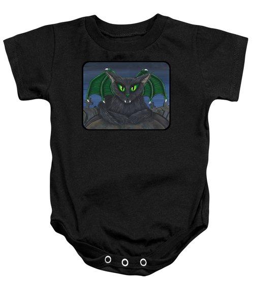 Bela Vampire Cat Baby Onesie