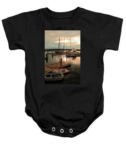 Belfast Harbor Baby Onesie