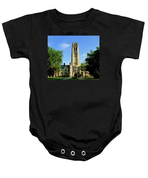 Bell Tower At The University Of Toledo Baby Onesie