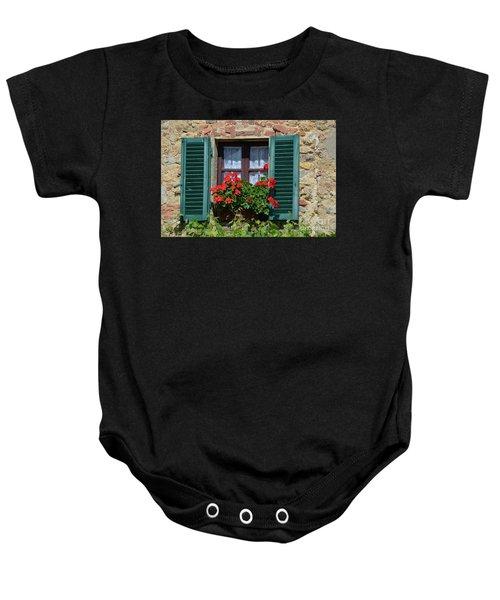 Bella Italian Window  Baby Onesie