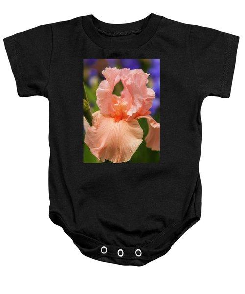 Beverly Sills Iris, 2 Baby Onesie