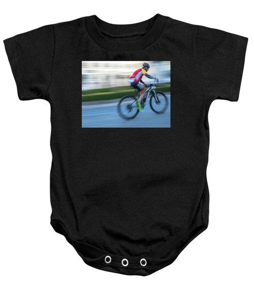 Bicycle Race Baby Onesie