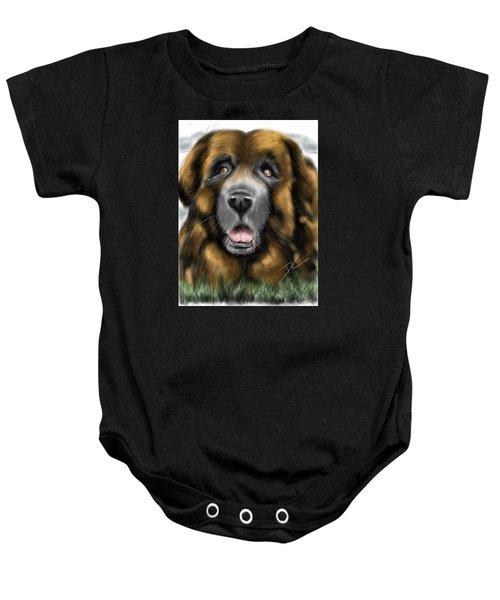Big Dog Baby Onesie
